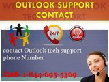 @1 844 695 5369 @ Outlook account email settings