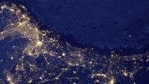 Illuminations de Noël visibles depuis l'espace grâce aux satellites de la NASA!