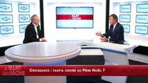 Joffrin sur la croissance : «Quand ça ne marche pas on dit que c'est de la faute de François Hollande et quand ça marche il n'y est pour rien»