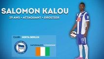 Salomon Kalou : sa première moitié de saison au Herta Berlin
