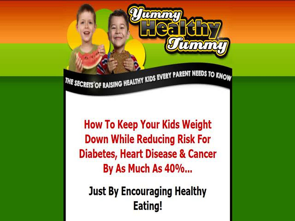 Yummy Healthy Tummy – Kids Healthy Eating Guide (DOWNLOAD)