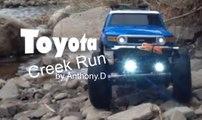 AXIAL SCX10™ TOYOTA FJ CRUISER/ Creek Run, 4x4 Ralley Truck