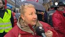 У Брюсселі протестували проти торговельної угоди зі США