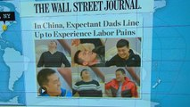 Headlines at 8:30: Hospital in China lets fathers experience childbirth pain