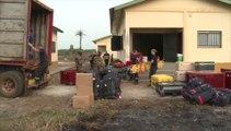 Lutte contre Ebola en Guinée : en route vers Beyla aux côtés des unités militaires de la sécurité civile