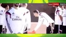 Bromas de Cristiano Ronaldo a sus compañeros │Entrenamientos Real Madrid │ Marruecos 2014