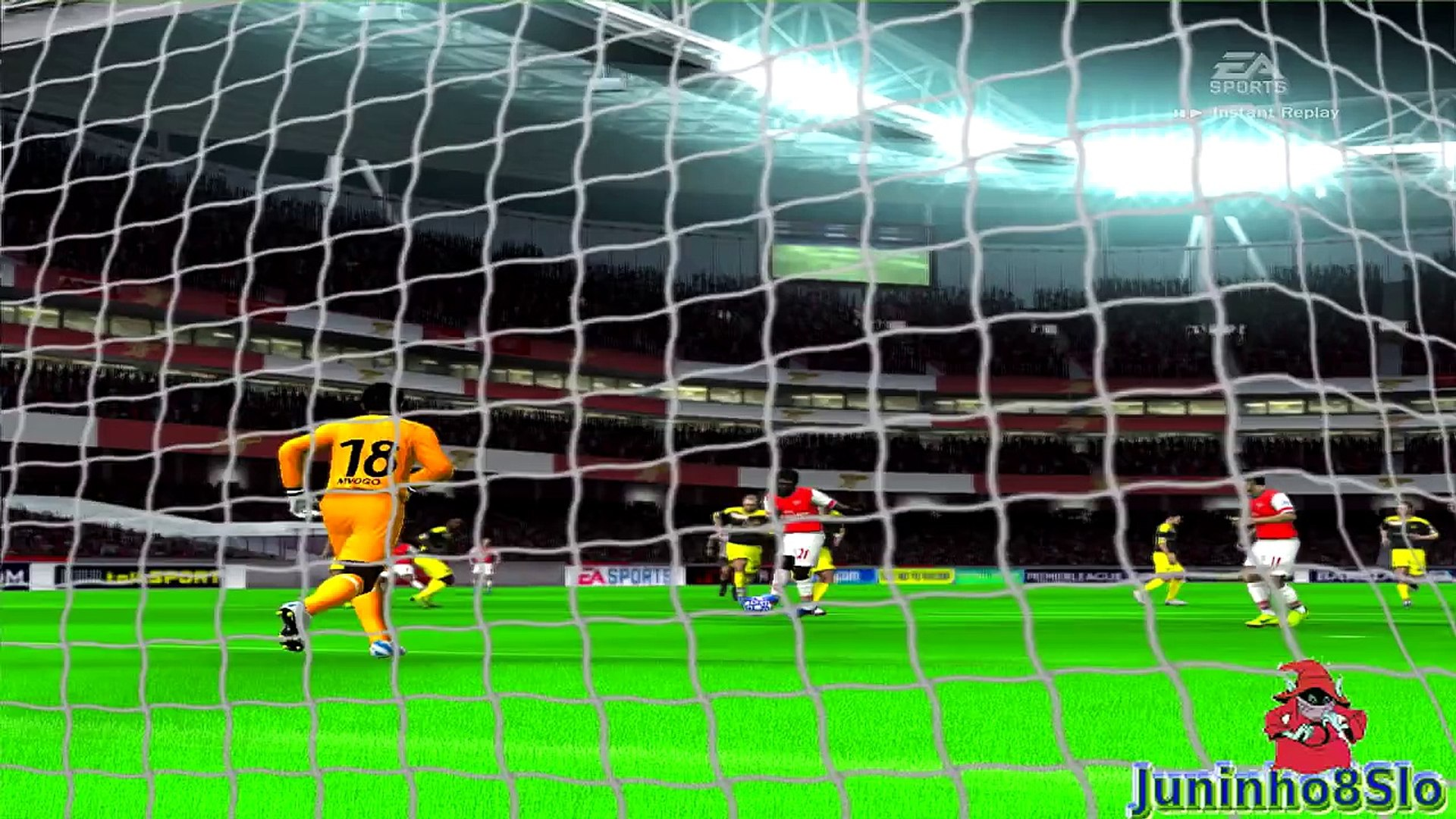 Fifa 10-Manager Mode-Arsenal vs BSC Young Boys-Game 61