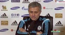 chelsea: Mourinho reçoit un appel pendant sa conférence de presse !