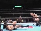 Kurasawa (Manabu Nakanishi) vs Yuji Nagata (New Japan November 14th, 1995)
