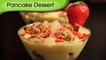 Pancake Dessert - Christmas Special Pancake With Custard - Easy Dessert Recipe By Ruchi Bharani