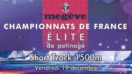 Replay - Elite Megève 2014 - Short Track 1500m