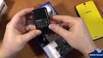 Видеообзор Philips Xenium V387
