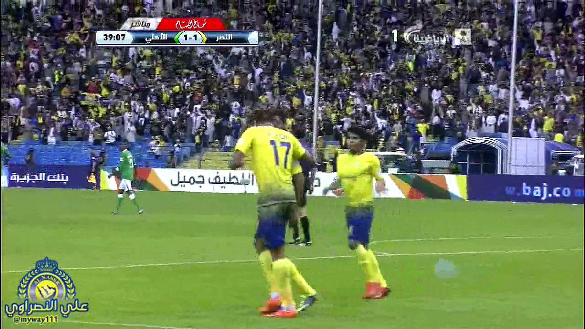 اهداف النصر بطل دوري 2013 2014 فيديو Dailymotion