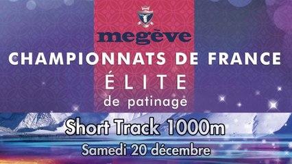 Replay - Elite Megève 2014 - Short Track 1000m