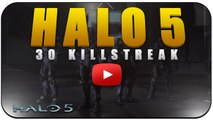 """Halo 5 Beta Multiplayer Gameplay 31 Killstreak """"INVINCIBLE MEDAL"""" First Impressions (Halo 5 60 FPS)"""