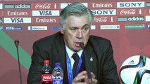 Carlo Ancelotti savoure le titre mondial du Real Madrid