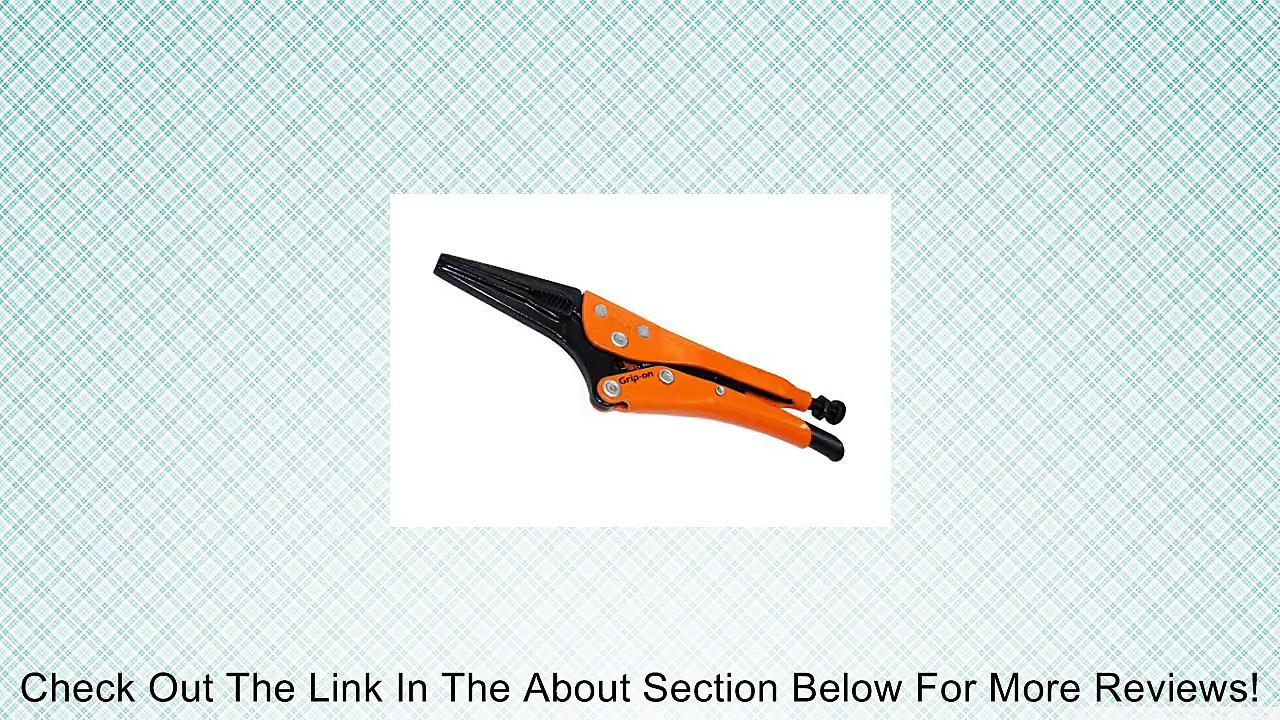 Grip-On GR12706BK 6-Inch Long Nose Locking Pliers in Orange Epoxy Review