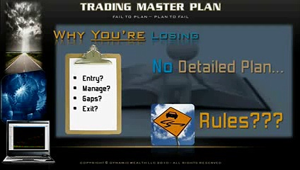 Trading Master Plan, Learn How To Trade The Stock Market .