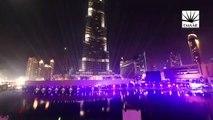 Dubai Burj Khalifa 2015 New Year Celebration , Downtown Dubai New Year's Celebrations 2014