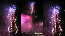 New Year's Celebration 2015 Dubai Fire Works Burj Khalifa HD Video Offical Released