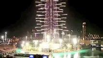Watch Burj Khalifa New Year's Eve Fireworks 2015 -Dubai Fire Works New Year Celebration