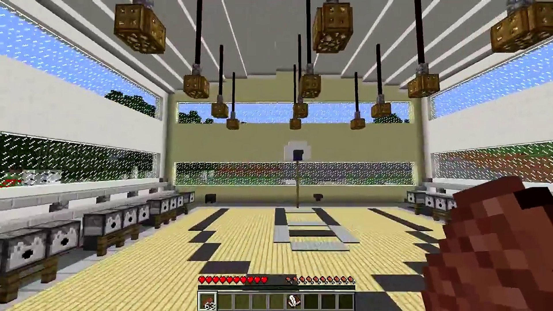 Minecraft Mod WORKING OUT MOD FITNESS IN MINECRAFT!! SSundee