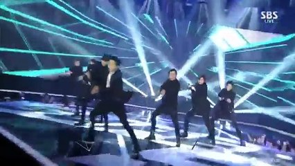 141221 INFINITE - Last Romeo + Back @ 2014 SBS Gayo Daejun