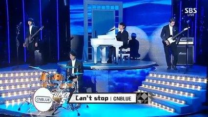 141221 CNBLUE - Can't Stop @ 2014 SBS Gayo Daejun