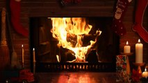 4 Hours long! Perfect Christmas Fireplace Full HD 1080p with perfect crackling sound
