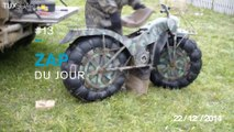 Zap du jour #13 - zapping avec une moto Russe, tu t'es vu quand t'as bu...