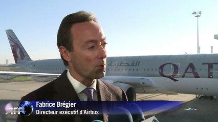 """L'A350 livré à Qatar Airways """"après 7 ans de travail acharné"""""""