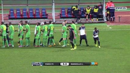 Paris FC 3 - 1 Marseille Consolat (19/12/2014)