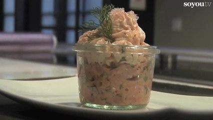 Cupcakes à la mousse de saumon - Recette facile