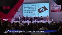 Tunisie: Béji Caïd Essebsi annoncé vainqueur