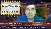 Chicago Bulls vs. Toronto Raptors Free Pick Prediction NBA Pro Basketball Odds Preview 12-22-2014