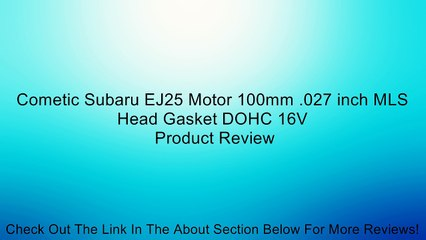 Subaru EJ25 Resource | Learn About, Share and Discuss Subaru EJ25 At