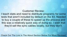 Guerrilla 83Linkcable Link Cable For Ti 83 Plus, Ti 84 Plus, Ti 86, Ti 89 , Calculators Review