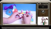 Peppa Pig Play Doh Fun Factory Machine Peppa's Dough Set Hasbro Toys Juguetes de Plastilina