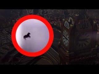 İşte Mekke'de Görülen 'Uçan At'