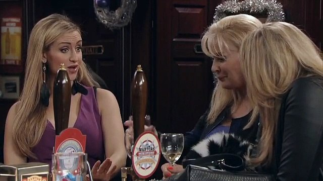 Coronation Street Preview: Boxing Day's Coronation Street Erica and Liz discuss shopping whilst drunk in the sales