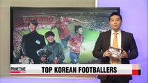 KFA names Son Heung-min, Ji So-yun footballers of year