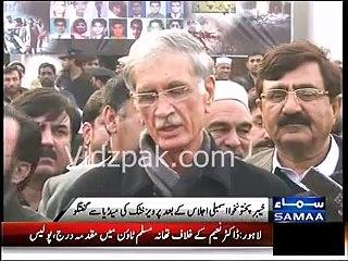 CM KPK Pervaiz Khattak announces to send back Afghan Refugees to Afghanistan