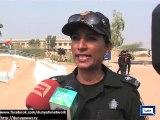 Dunya News- Karachi- Benazir Bhutto Training Centre holds 23rd passing out parade of Eagle Batch.