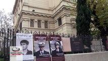 Marò, al Tempio Maggiore affisse le foto dei due fucilieri