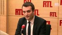 Florian Philippot est l'invité politique de RTL, le 23 décembre 2014