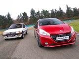 La Peugeot 208 GTi 30th défie à la 205 GTI