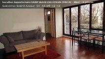 A louer - appartement - SAINT MAUR DES FOSSES (94210) - 2 pièces - 48m²