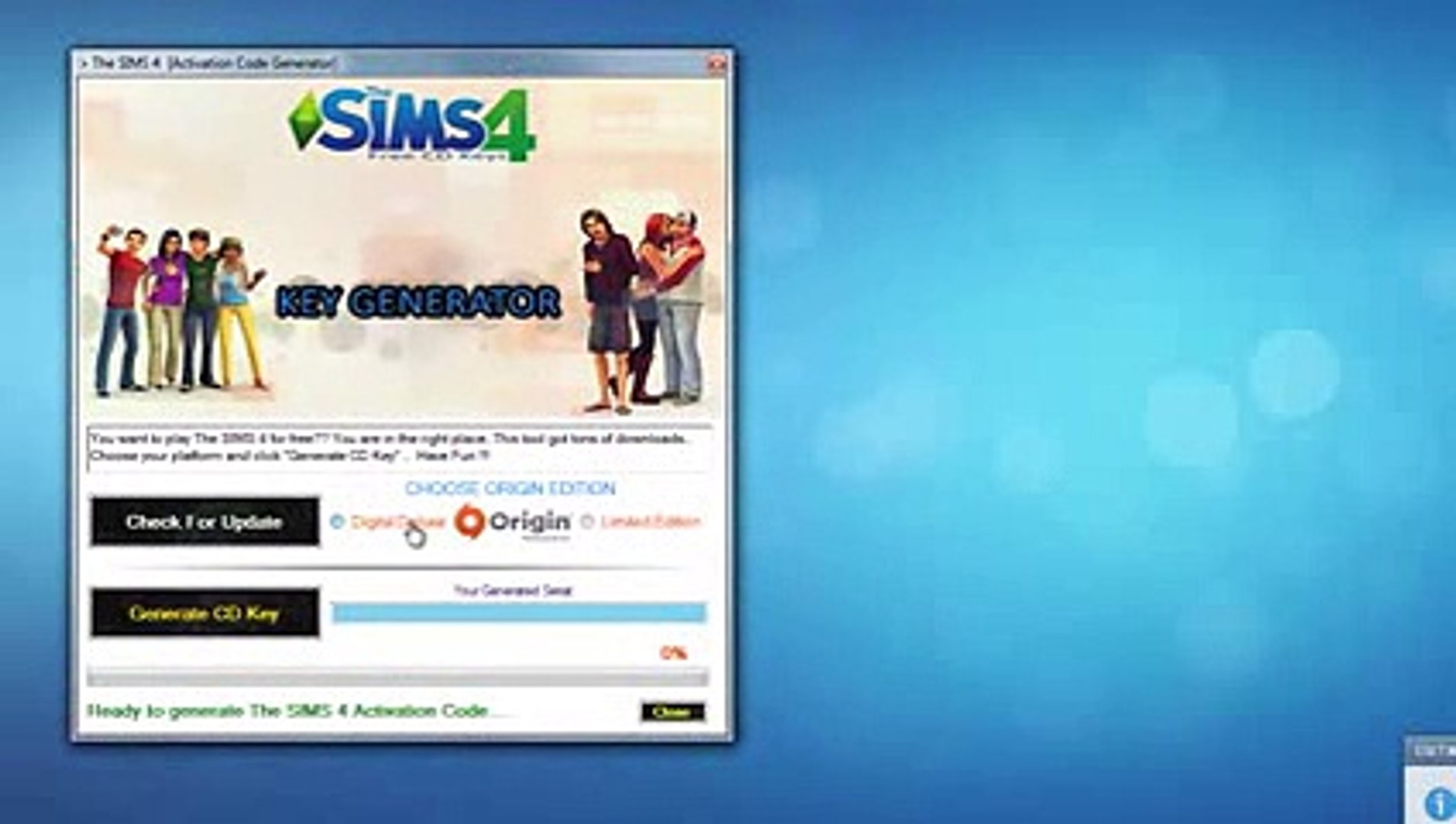 sims 4 product code origin  no survey