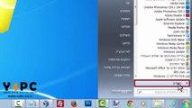 שחזור מערכת הפעלה ווינדוס 7 Windows 7 System Restore