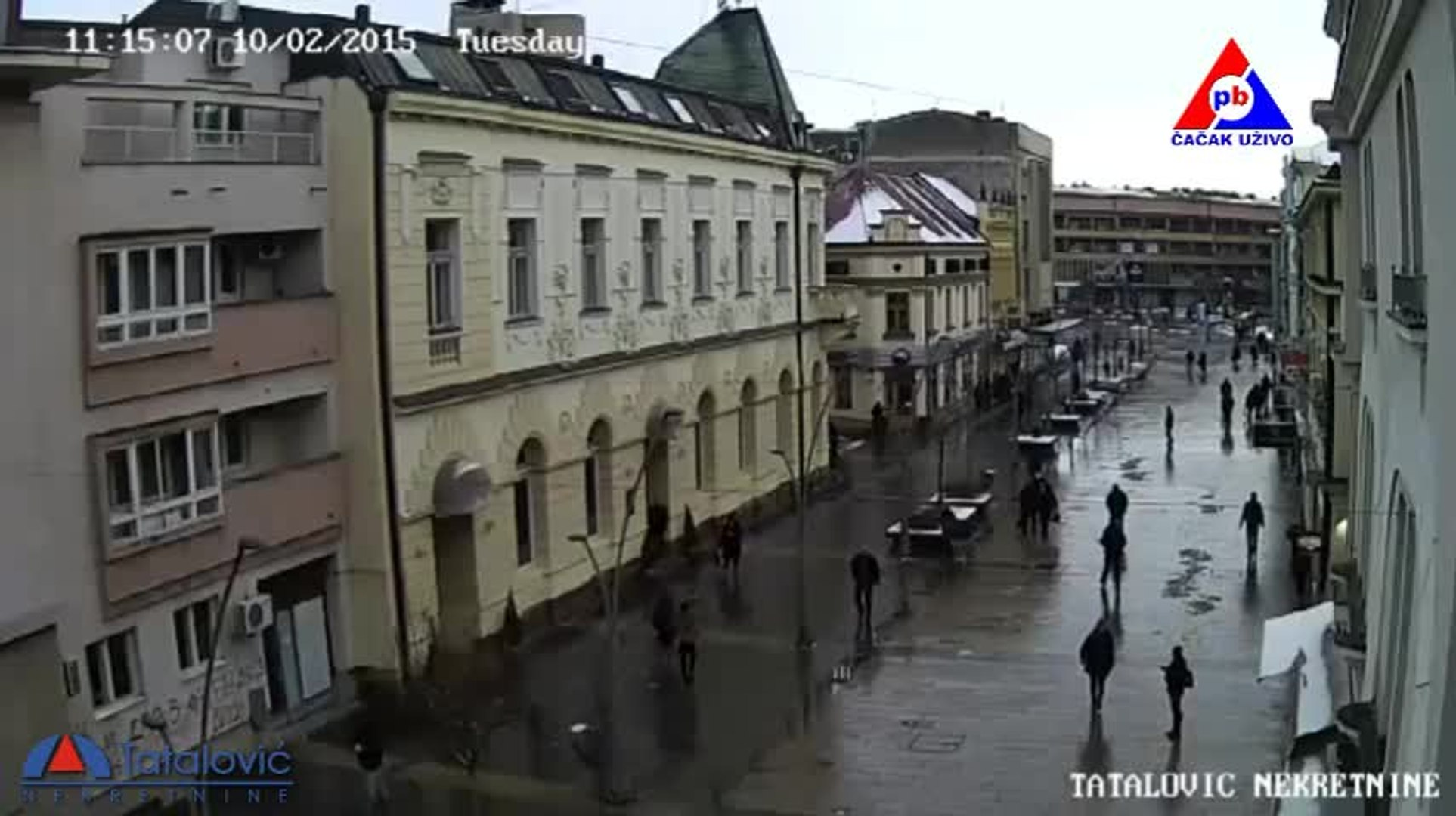 Čačak kamera 1 - www.cacakuzivo.rs
